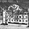 Rodney Jenkins On Horse At National Horse Show At Madison Square Garden. 1975.