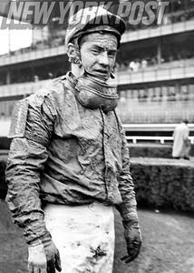 Ron Turcotte After 'Big A' Horse Show Race. 1966