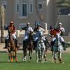 Bin Drai Polo vs. Ghantoot Polo (in orange)at the Dubai Polo Gold Cup Series 2013 held at the Dubai Polo & Equestrian Club, 25th Feb - 15th Mar, 2013.  Photo by: Stephen Hindley?SPORTDXB©
