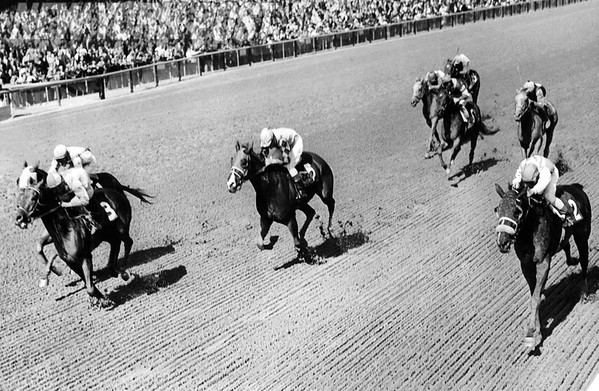 First Race Winner at the Aqueduct Racetrack is #3 Bigsolo. 1965