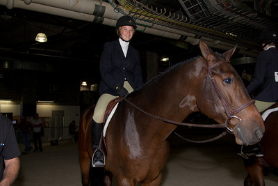 Jessica Van Brocklin (Alexandria VA) riding Second Hand News