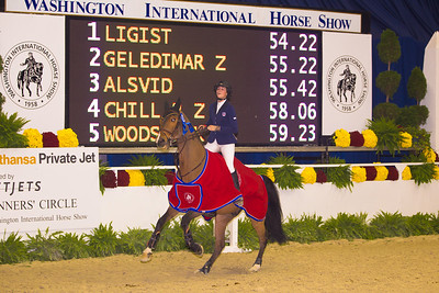 REED KESSLER on LIGIST $31,000 OPEN JUMPER 1.50m TBL C FAULTS CONVERTED, 1st place