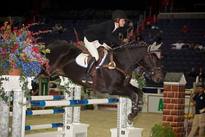 SARAH TREDENNICK on VIGARO $31,000 OPEN JUMPER, 1st place