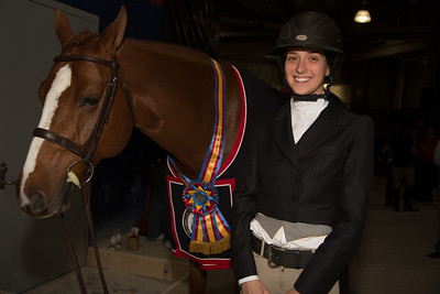 KATIE ROBINSON on ROCK STEADY Winner $3,000 AMATEUR-OWNER HTR 35+ STAKE (10/24/12)