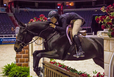 KATIE ROBINSON on ROCK STEADY $3,000 AMATEUR-OWNER HTR 35+ STAKE (Oct 24, 2012)