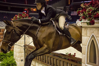 KATIE ROBINSON on ROCK STEADY 1st Place $3,000 AMATEUR-OWNER HTR 35+ STAKE (10/24/12)