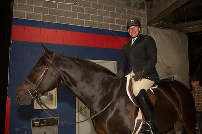 Glen Senk (New York, NY) on Declaration (former Grand Champion horse)