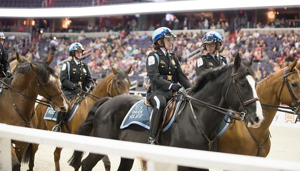 U.S. Park Police, Washington International Horse Show