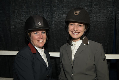 Christine McCrea, Catherine Tyree, Washington International Horse Show