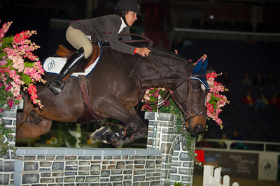 CHRISTINA KELLY on HH NARCOS DU MARAIS $5,000 HIGH JR/A-O JPR 1.37m II,1a, 1st place