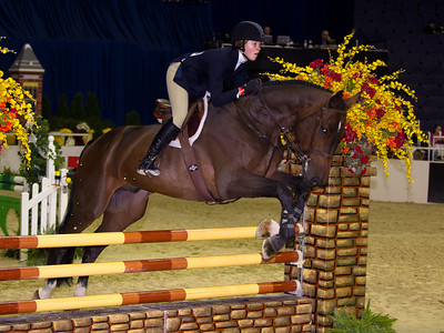 GENEVIEVE ZOCK on HH CONFESSION WIHS JR EQUITATION - JUMPER PHASE