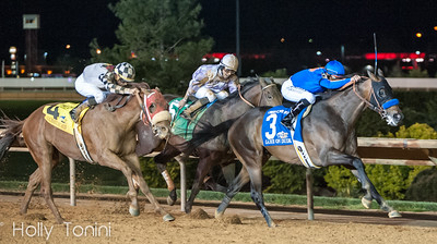 Game on Dude wins the Charles Town Classic ahead of Ron the Greek and Clubhouse Ride
