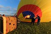 I was surprised to find out the balloon, ready to fly but with no pilot or passengers, weighs about 1000 pounds.