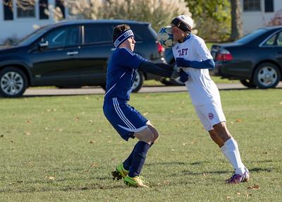 Boys' JV Soccer vs Hotchkiss during Taft-Hotchkiss Day