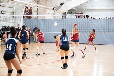 Thirds Volleyball v Hotchkiss