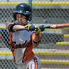 "Abby Ramirez of the Beverly Bandits, takes a swing at a pitch against the Arizona Hotshots.<br /> For more photos of the game, go to  <a href=""http://www.dailycamera.com"">http://www.dailycamera.com</a>.<br /> Cliff Grassmick / June 30, 2012"
