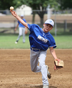 July 20 2013 ___Midview's Kaemon Kirby pitches against Ravenna at Wellington Community Park in Wellington. photo by Ray Riedel