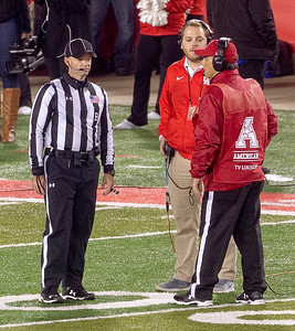 Referee, UH audio man, and the AAC TV liaison