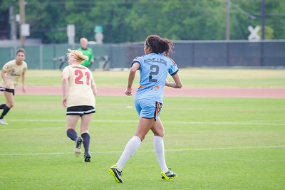 Houston Aces defender Yolanda McMillion (2) Houston Aces Vs Lonestar SC on Saturday, May 10th at Carl Lewis International Track & Field Complex in Houston TX