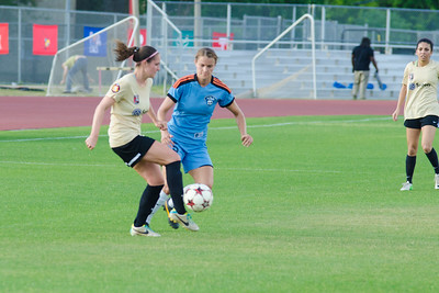 Houston Aces defender Kim Abbott (5) Houston Aces Vs Lonestar SC on Saturday, May 10th at Carl Lewis International Track & Field Complex in Houston TX