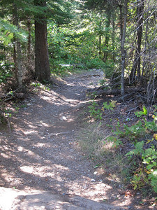 Looks like a great trail!  Wow, except this is Thomas portage, not the Kekekabic Trail.