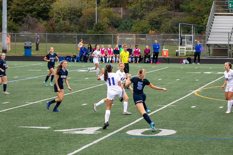 Girls Varsity Soccer - Howard High and Old Mill on 10/26/2019