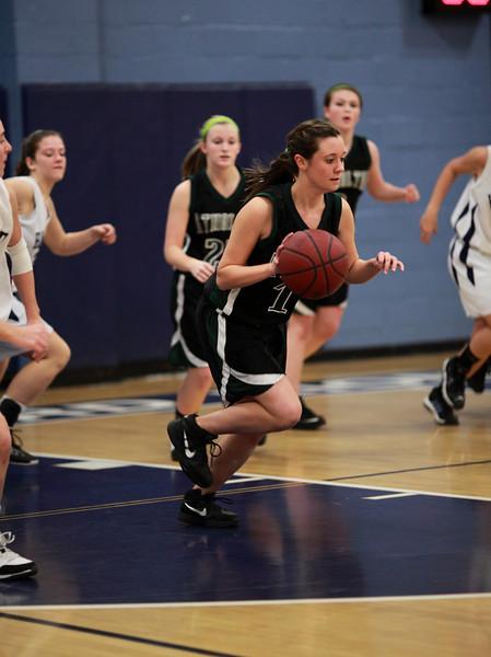 Howard High School Basketball Game on January27, 2010