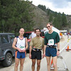 John Regnier, Carl Zamora, and Jeff on their way cold creek and party.