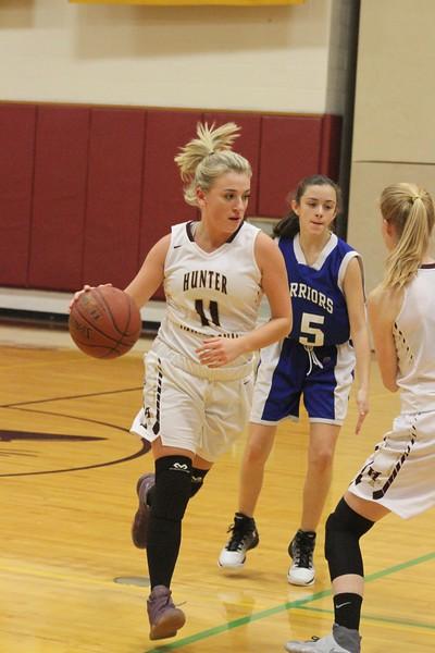 1/13/2017 Girls Varsity Basketball Game