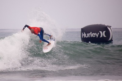 Kelly Slater at the Hurley Pro 2013.