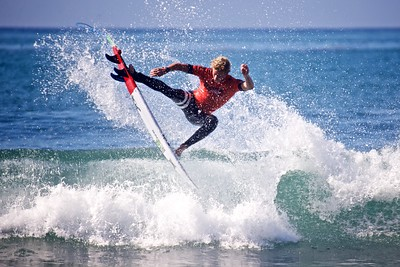 John John Florence at the Hurley Pro 2013.