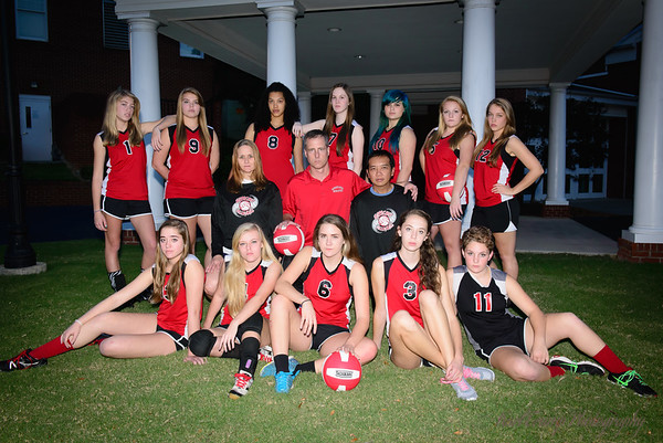 Hurricanes VB portraits and several games 2014