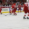 Carolina Hurricanes vs. Detroit Red Wings game, Wednesday, April 6, 2011 at the RBC Center in Raleigh, NC.