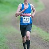 Hurstbourne Tarrant 5 - 5 mile race winner Matthew Green who came home in a time of 32 min 31 sec, out on the course . 28th April, 2018 - Picture Andy Brooks