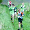 Hurstbourne Tarrant 5m - 2 mile race runners out on the course . 28th April, 2018 - Picture Andy Brooks
