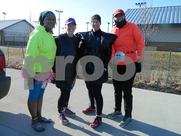 left to right: Whitney Smith McIntosh, Ann Hegstoom from Desoto, Lisa SHaler from Creston and Christine Lousias from Herreid South Dakota