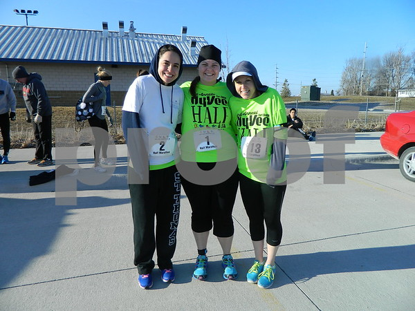 left to right: Christy Spampihato, Maddi Mayry, and Erin O'Donnell