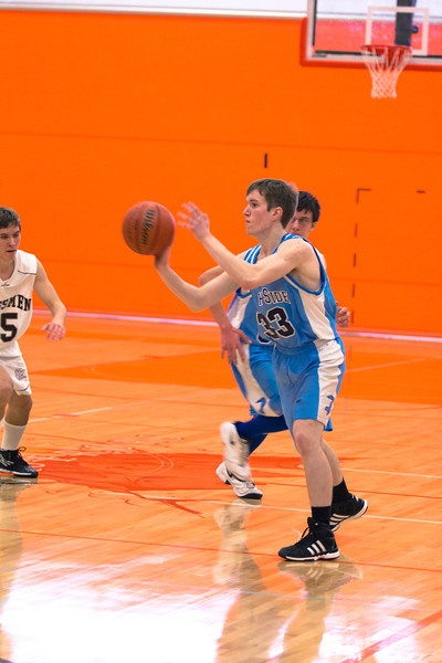 Boy's Basketball - IACS 2012