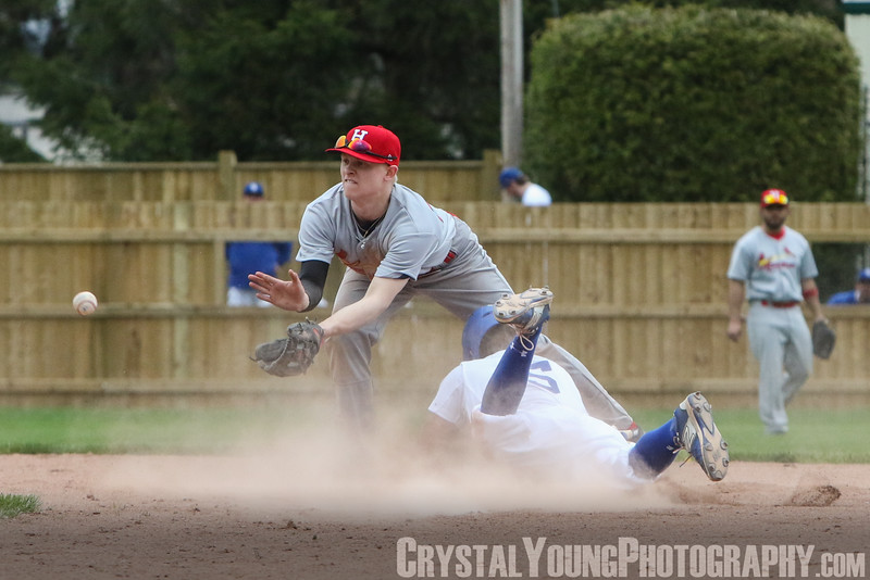 Hamilton Cardinals at Guelph Royals Opening Day: May 7, 2016
