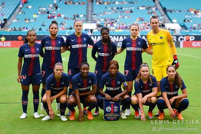 Paris Saint-Germain Starting Eleven