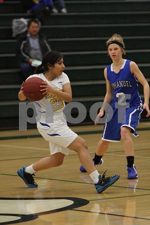 IHS girls hoops vs Parlier