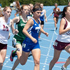 Caitlin Busch, Freeburg High School senior, in the 1600 meter run during the Class 2A Girls IHSA State Track and Field competition at the O'Brien Stadium on the campus of Eastern Illinois University in Charleston, Illinois on May 18, 2012. (Jay Grabiec)