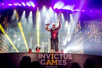 INVICTUS GAMES ORLANDO 2016 CLOSING CEREMORY