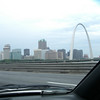 Over the river, the Arch