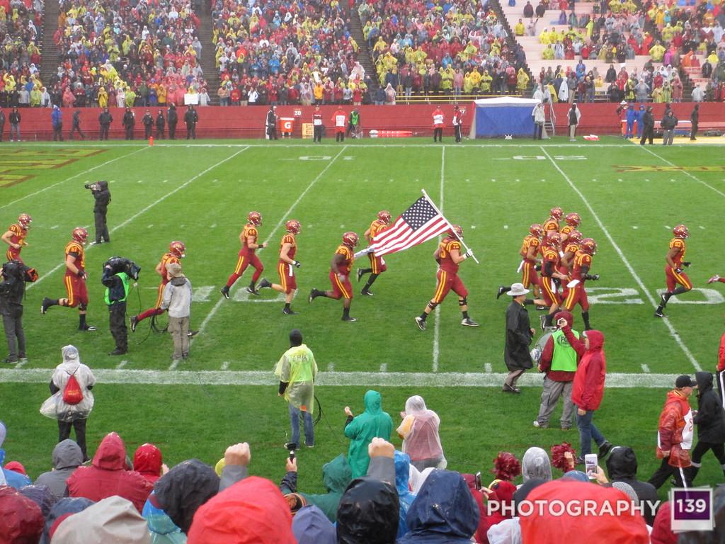 Iowa State 45 Kansas 0