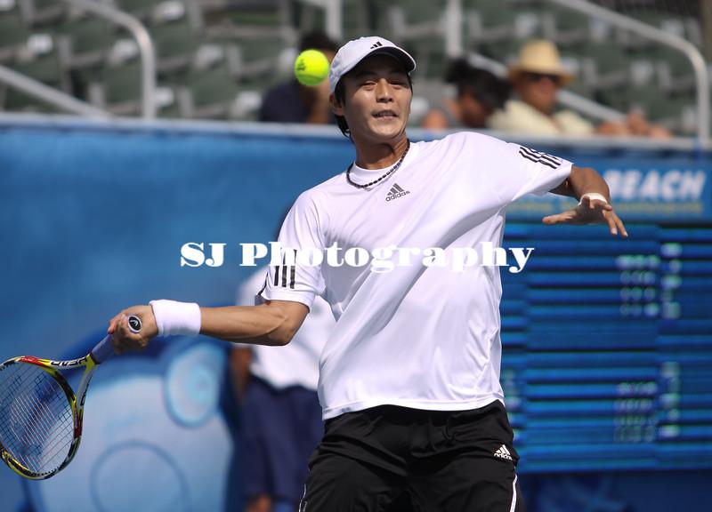 Yen-Hsun Lu<br /> 2009 Delray Beach International Tennis Championships - First <br /> Round<br /> Delray Beach, FL  USA - 02.25.09