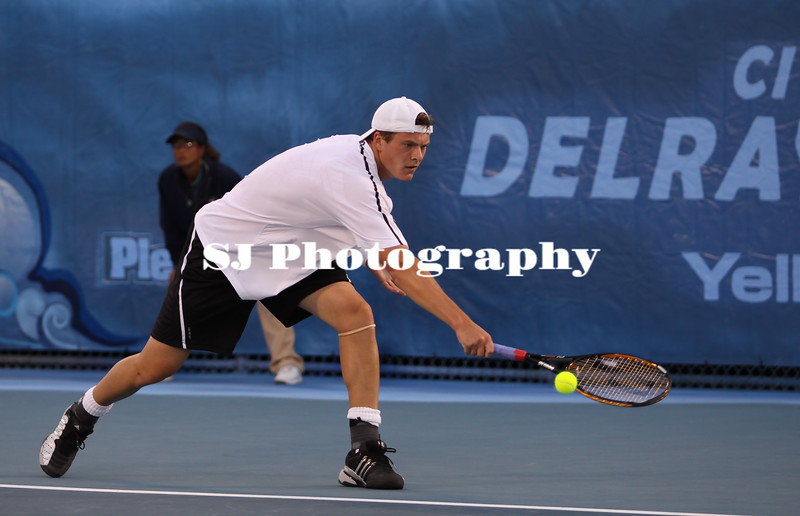 Evgeny Korolev<br /> 2009 Delray Beach International Tennis Championships - Quarter Finals<br /> Delray Beach, FL  USA - 02.27.09