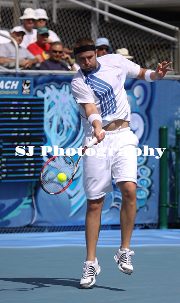 Marty Fish<br /> 2009 Delray Beach International Tennis Championships - Quarter Finals<br /> Delray Beach, FL  USA - 02.27.09