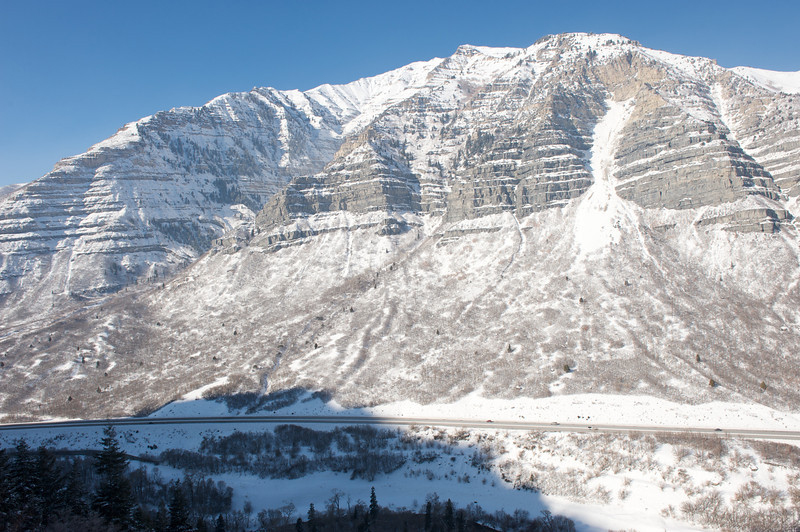 View across Provo Canyon from the Fang.