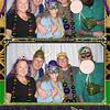Pensacola Photo Booth with Pensacola Ice Flyers on Mardi Gras Night 2020